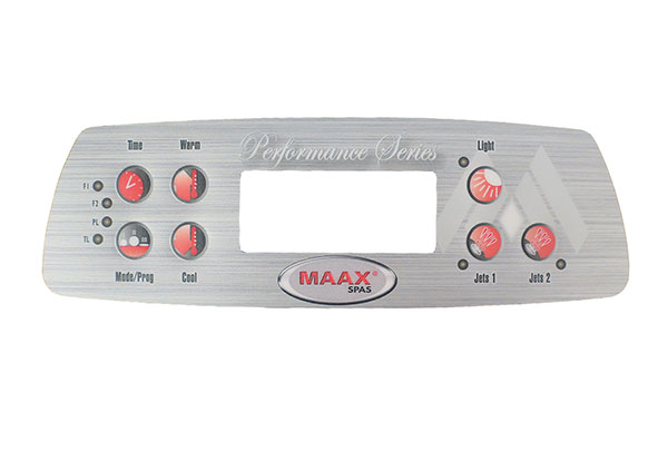 107735 Faceplate Decal Coleman By Maxx Spas Performance