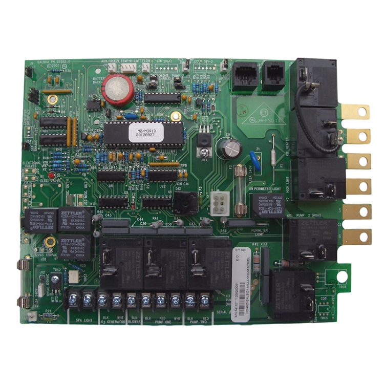 52518 Balboa Standard Amp Deluxe Circuit Board With 2