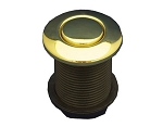 AIR BUTTON: #15 CLASSIC TOUCH, POLISHED BRASS 951590-741