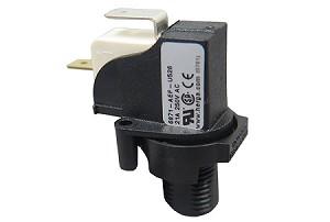 Herga Air Switch 21amp 2hp 250v Spst Latching 5310001