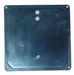 HEATER HOUSING COVER: HT-1 PLASTIC ABS BLACK | 15-0002