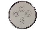 C G AIR SYSTEMES TMS ROUND CONTROL BUTTON CHROME VARIABLE
