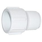 PVC ADAPTER: MALE 1/2'' SLIP X 1/2'' MIPT | 436-005