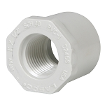 PVC FITTING: BUSHING 1'' SPIGOT X 1/2'' FIPT | 438-130