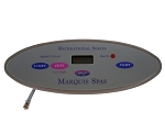 TOPSIDE: MARQUIS SPAS SMALL OVAL WITH OVERLAY | 650-0635 | 650-0423