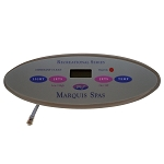 TOPSIDE: MARQUIS SPAS RECREATIONAL | 650-0635 | 650-0483