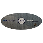 OVERLAY: MARQUIS SPAS JETS ZONE OVAL | 650-0686