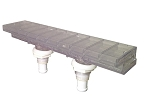 WATERFALL BODY: AQUA TERRACE WITH MOUNTING NUTS (2005+) | 6541-063