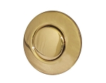 LEN GORDON AIR BUTTON TRIM ONLY: #15 CLASSIC TOUCH, BRASS PVD