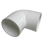PVC FITTING: 90 ELBOW 2'' SLIP X 2'' SLIP | 406-020