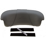PILLOW: DIMENSION ONE AT HOME SERIES CORNER VELCRO HEADREST 1510-526-A