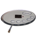 KEYPAD CONTROL: JACUZZI  J-200 & J-300 SERIES 2002-2006 PART 2600-322