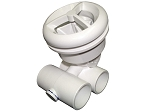 HYDRO-AIR JET ASSEMBLY: MICROSSAGE 1'' X 1'' WHITE 16-5200WHT