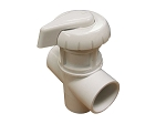 DIVERTER VALVE: HYDRO-AIR 3-WAY FLOW 1'' SLIP X 1'' SLIP X 1'' SLIP - WHITE