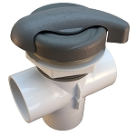 DIVERTER VALVE: LA SPAS COMPLETE GREY PART PL-40165