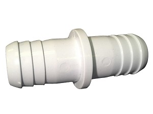 21000-750 | PVC PART: COUPLER 3/4'' X 3/4'' RIBBED BARB X 1/4'' ID