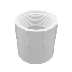 435-015 | REPLACEMENT SPA PVC ADAPTER: FEMALE 1-1/2'' SLIP X 1-1/2'' FIPT