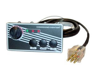 TOPSIDE: COMMAND CENTER - 3-BUTTON - 120V - 10' - WITHOUT DIGITAL DISPLAY | CC3-120-10-1-00